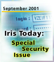 Iris Today September 2001: Special security issue